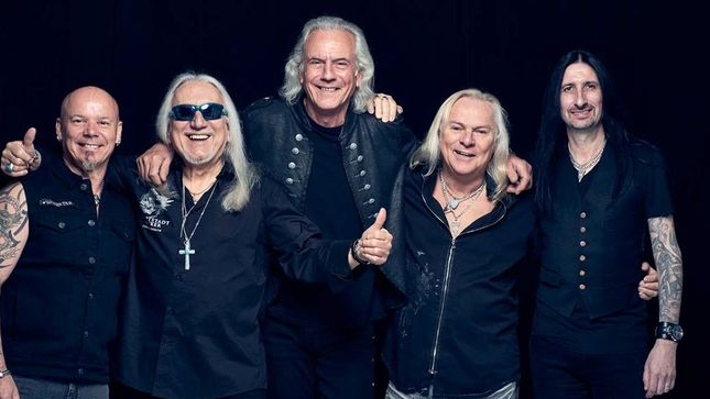 Uriah Heep Celebrate 50 Years In Rock With A Very Eavy Collection Stoakes Media